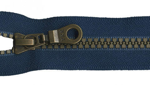 "9"" Brastique Zipper in Melody Blue"