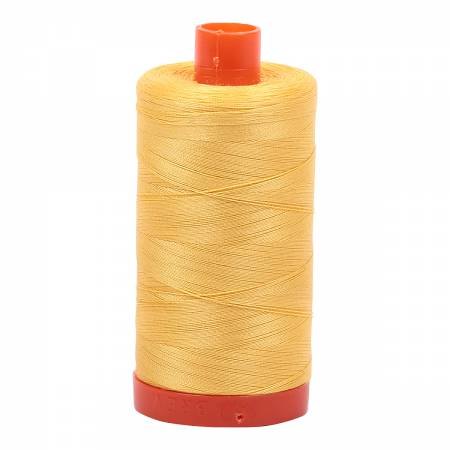 Aurifil 50wt Cotton Thread - 1422 Yards - Pale Yellow 1135