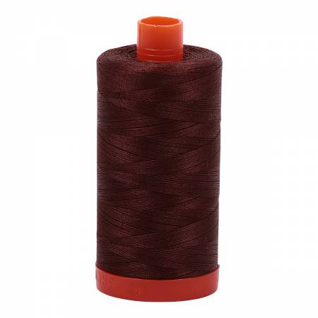 Aurifil 50wt Cotton Thread - 1422 Yards - Chocolate 2360