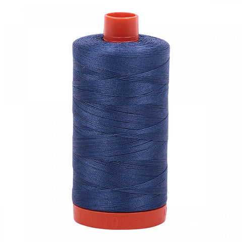 Aurifil 50wt Cotton Thread - 1422 Yards - Steel Blue 2775