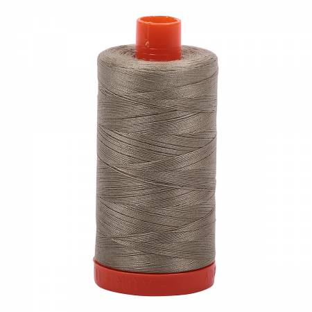 Aurifil 50wt Cotton Thread - 1422 Yards - Light Khaki Green 2900