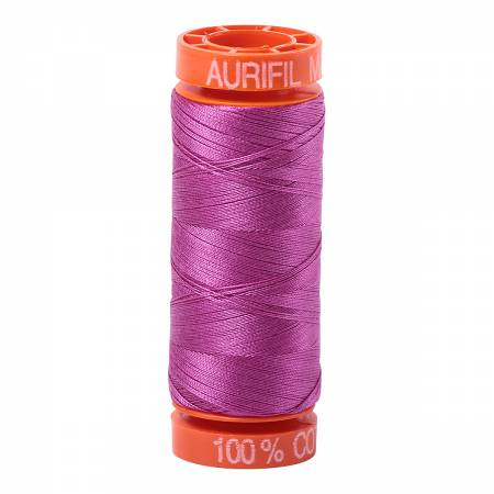 Aurifil 50wt Cotton Thread - 220 Yards - Magenta 2535