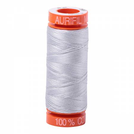 Aurifil 50wt Cotton Thread - 220 Yards - Dove 2600