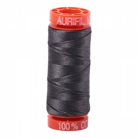 Aurifil 50wt Cotton Thread - 220 Yards - Dark Pewter 2630