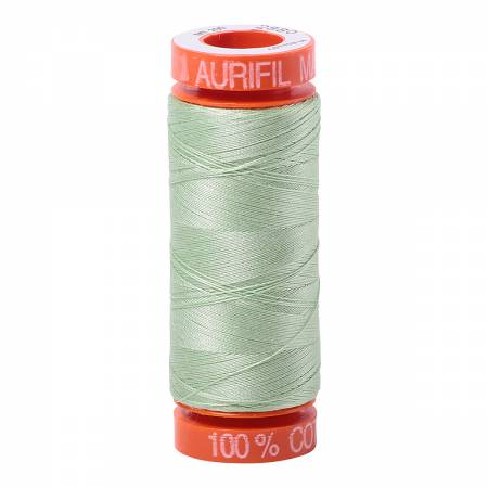 Aurifil 50wt Cotton Thread - 220 Yards - Pale Green 2880
