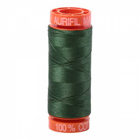 Aurifil 50wt Cotton Thread - 220 Yards - Pine 2892