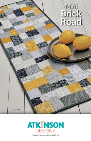 Mini Brick Road Quilt Pattern