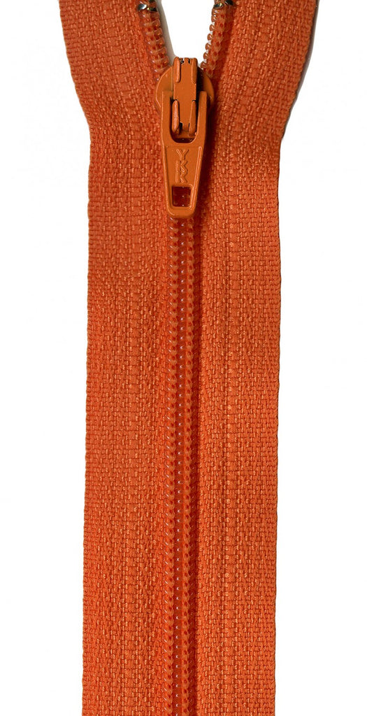"14"" Zipper in Orange Peel"