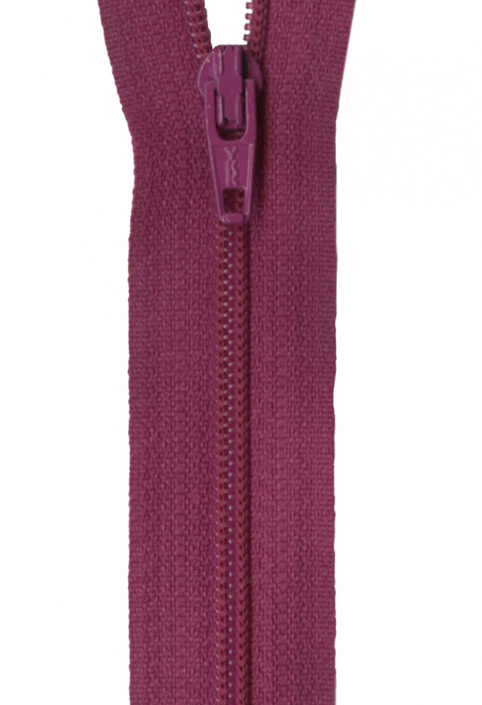 "14"" Zipper in Raisin"