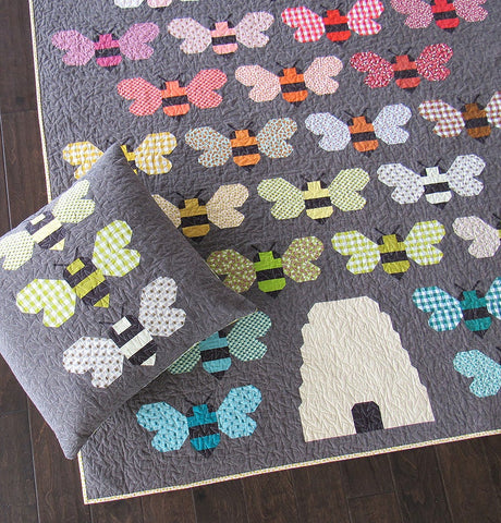 Beehive Quilt & Pillow Pattern