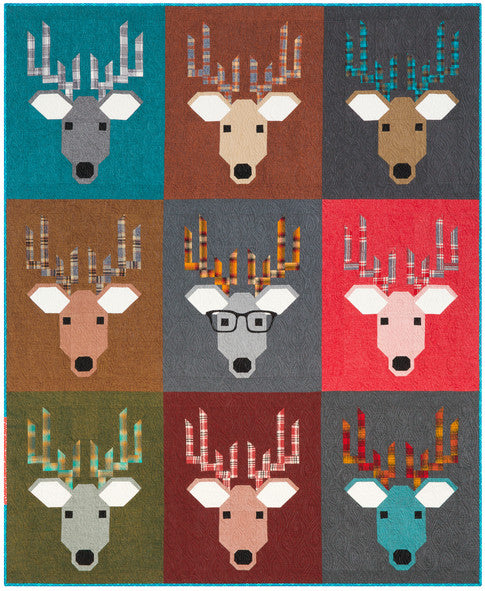 Dwight The Deer Quilt Pattern