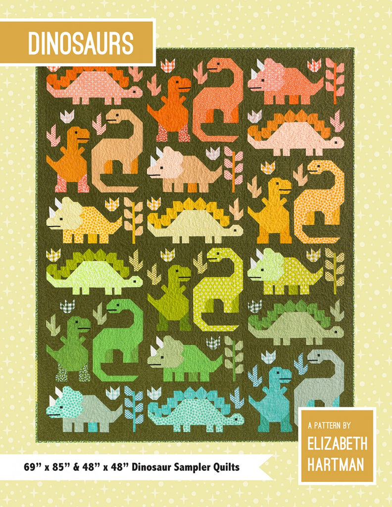 Dinosaurs Quilt Pattern