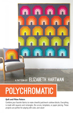 Polychromatic Quilt & Pillow Pattern