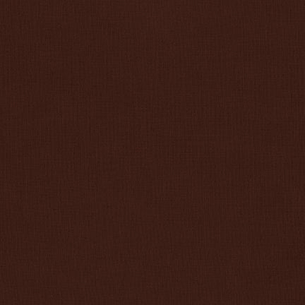 Kona Cotton Solids - Brown