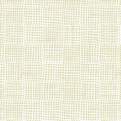 Maker Maker - Grid in Neutral (Linen Blend Canvas)