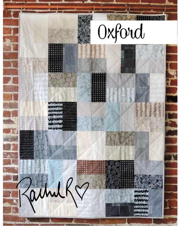 Oxford Quilt Pattern - PDF Download