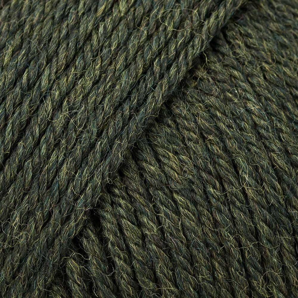 220 Superwash Wool in Olive Heather (865)