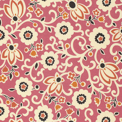 New Bedford - Tapestry Floral in Sorbet
