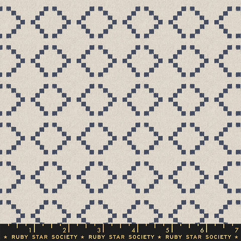 Warp & Weft Wovens - Parade in Navy