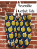 Reversible Market Tote Pattern - PDF Download