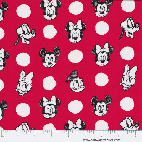 Mickey Mouse And Friends - Character Jumbo in Red