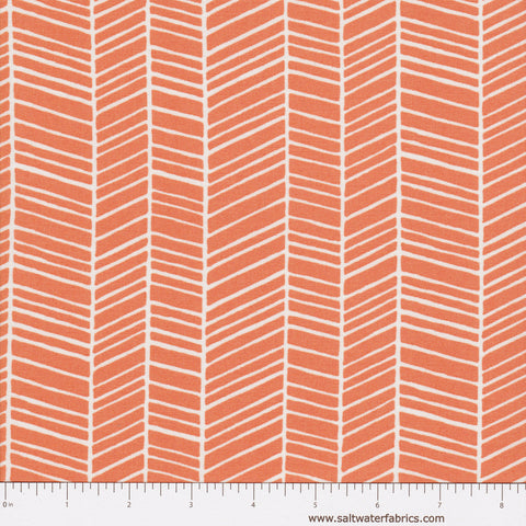 Flora - Herringbone in Carrot