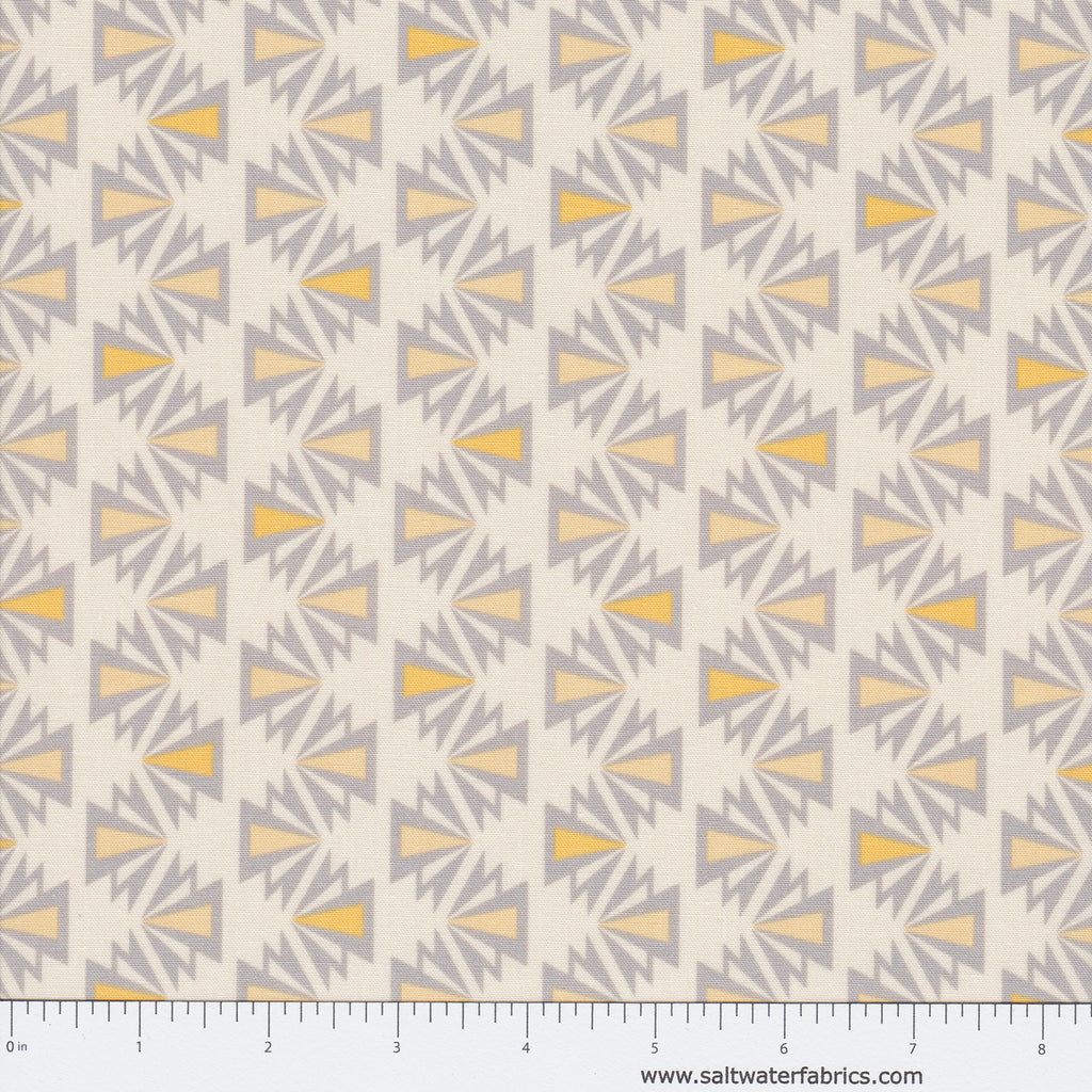 Fragmental - Deco Stripe in Sunflower