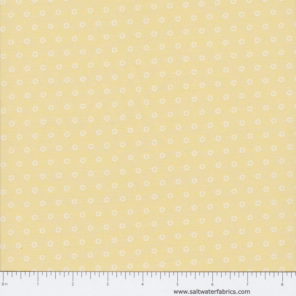 Butter Pecan - Dots in Light Yellow