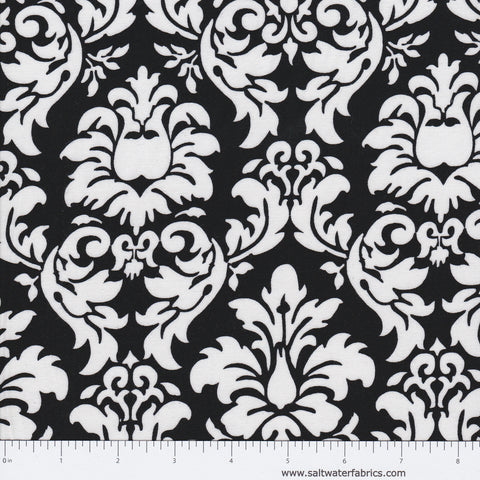 Dandy Damask in Black