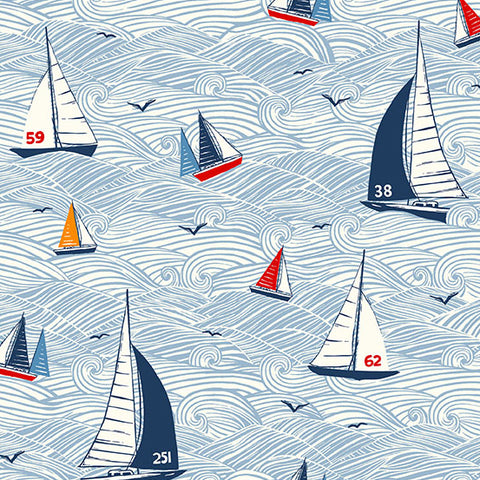 Sail Away - Seascape in Multi