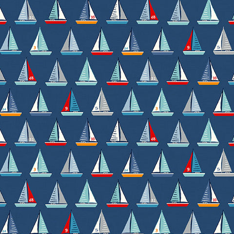 Sail Away - Yachts in Blue