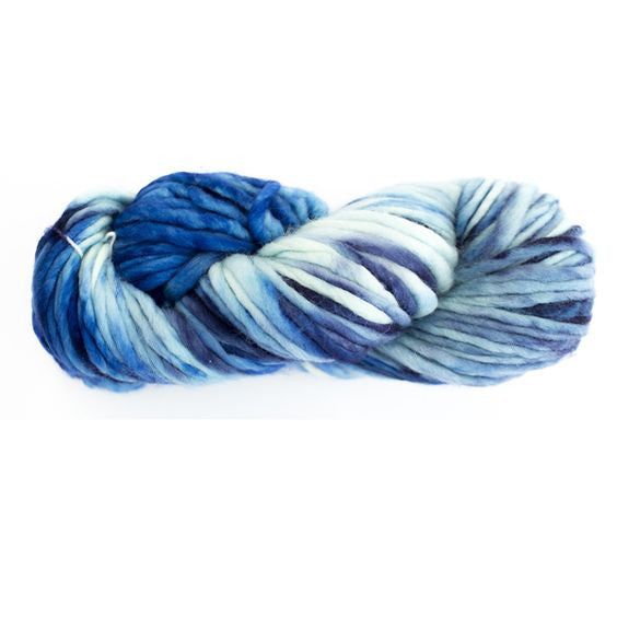 Artist Hand Dyed Chunky Yarn - Blue Gradient 2015