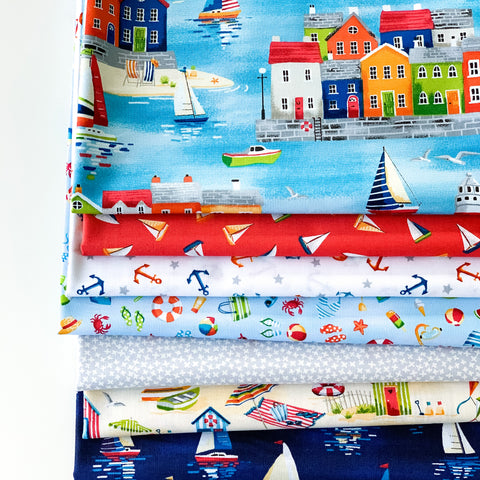 Beside The Sea Fat Quarter Bundle