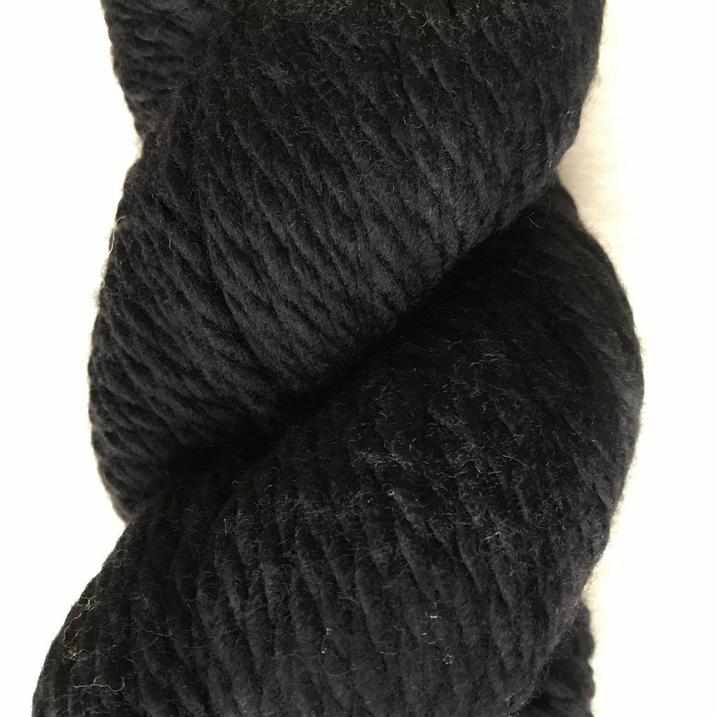 128 Superwash Chunky in Black