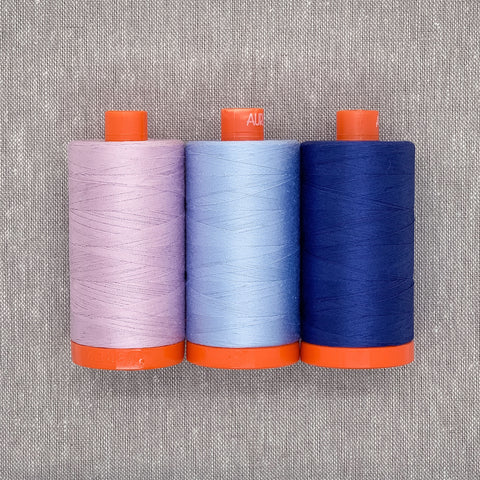 Aurifil Thread Pack in Blueberry