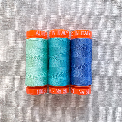 Aurifil Thread Pack in By The Bay