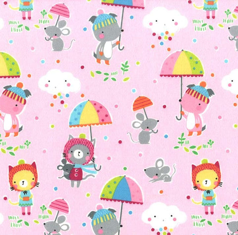 Puddle Play Flannel - Puddle Play in Cupid