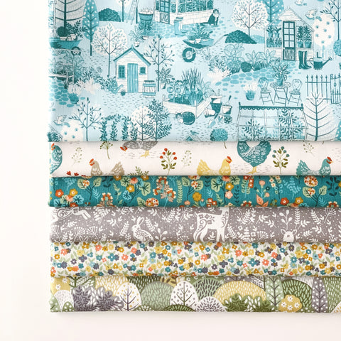 Clara's Garden Fat Quarter Bundle
