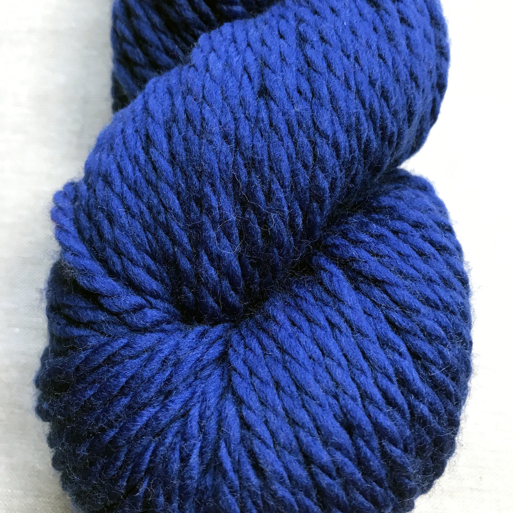 128 Superwash Chunky in Deep Sapphire