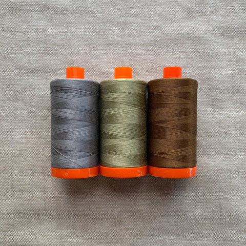 Aurifil Thread Pack in Earthy