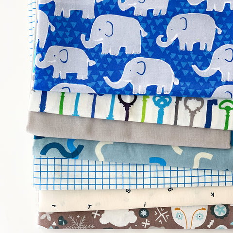 Elephants Half Yard Bundle
