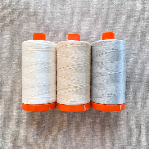 Aurifil Thread Pack - Essentials in Light