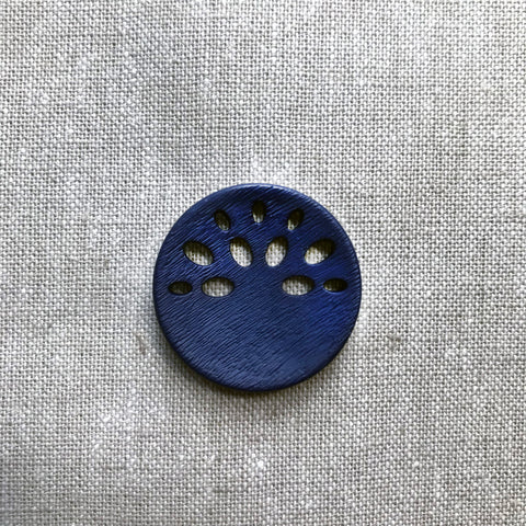 Fan Cut Out in Navy