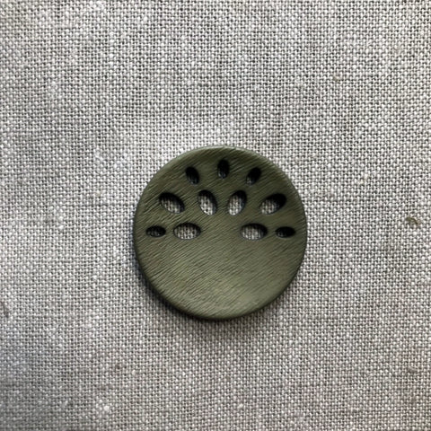 Fan Cut Out in Olive