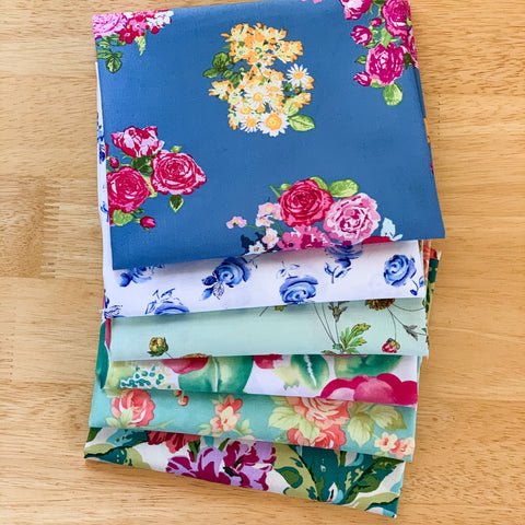 Florals For Days Fat Quarter Bundle