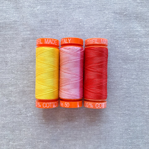 Aurifil Thread Pack in Fruity