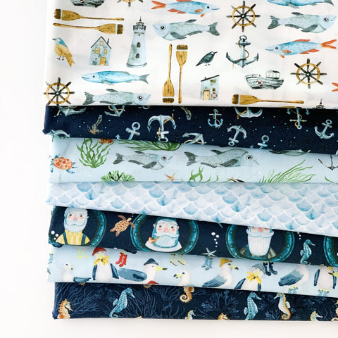 Hook, Line & Sinker Fat Quarter Bundle