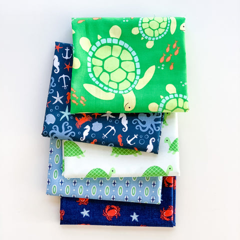Sea Buddies Fat Quarter Bundle