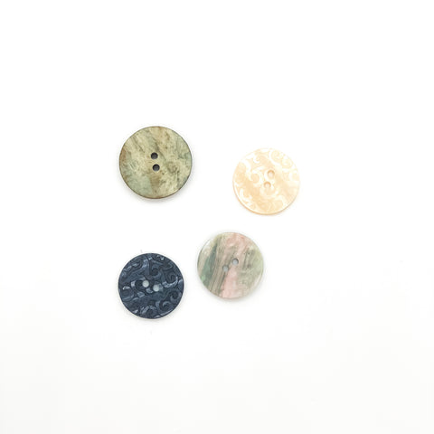 Button Pack in Pearl Essence