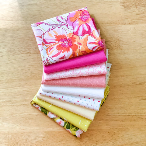 Pink Lemonade Fat Quarter Bundle